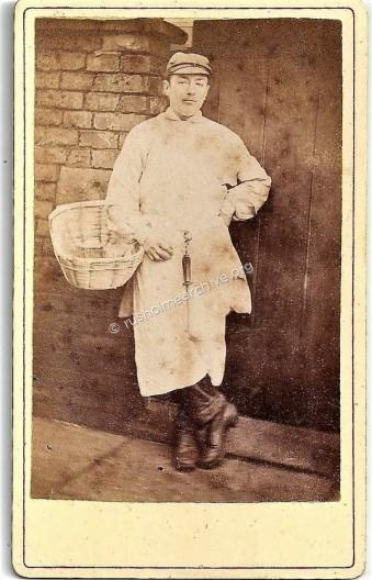 A Butchers Boy, (posing with attitude?)