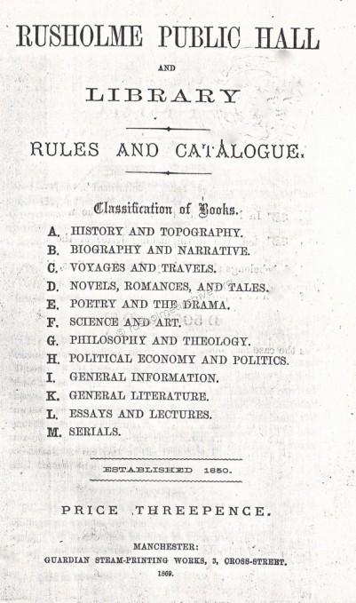 Rules & Catalogue