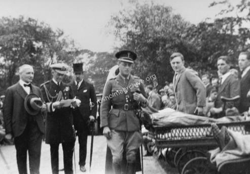 Prince of Wales visit in 1921