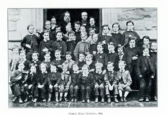 Rusholme Public Hall Schoolboys 1864