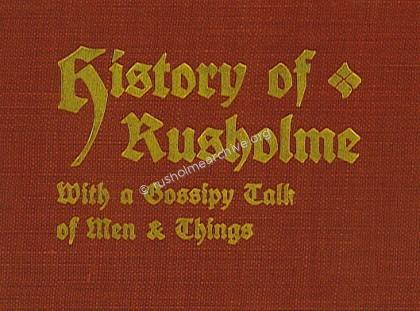 History of Rusholme by William Royle