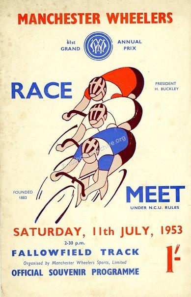 Manchester Wheelers 1953