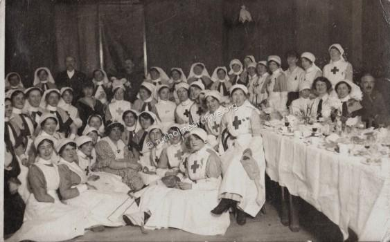 Nurse's at High Street Military Hospital,1917