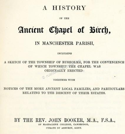 History of Birch-in-Rusholme
