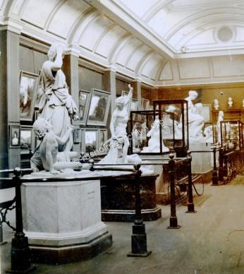 Langworthy Gallery interior circa 1890
