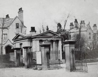 Rusholme entrance circa 1865