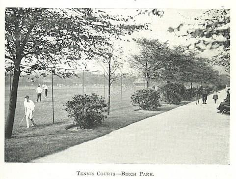 Tennis Courts 1915