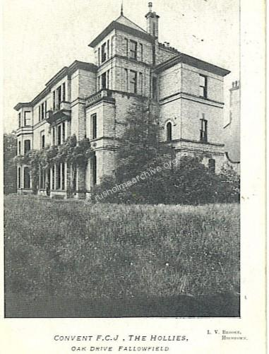 The Hollies FCJ Convent 1905