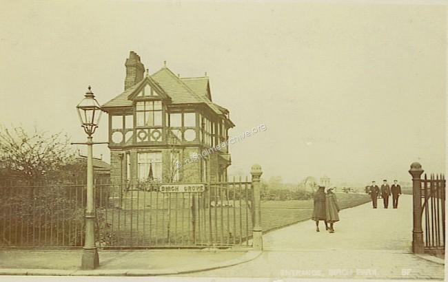 Rusholme entrance 1900?