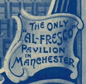 "The only ""Al-Fresco"" Pavilion in Manchester."