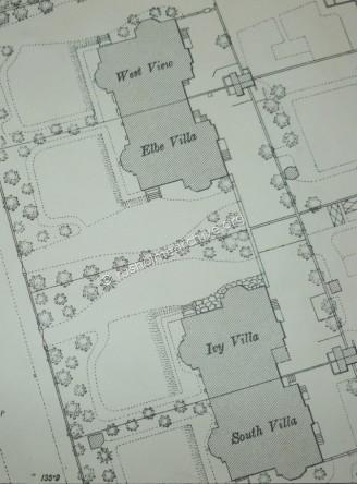 Map of the 4 Walters Villas