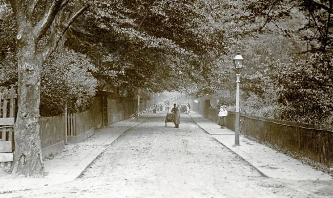 Platt Lane circa 1905, looking East