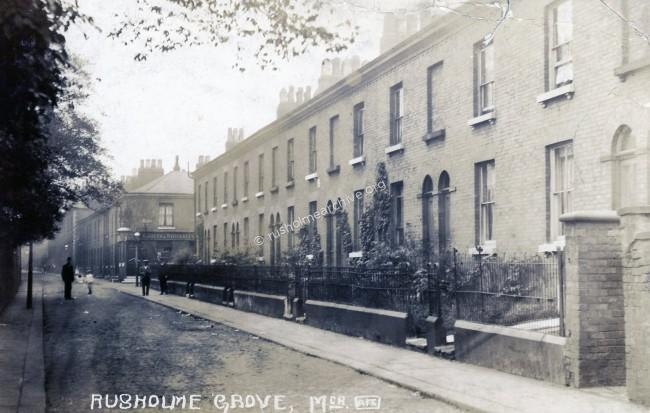Rusholme Grove, 1910