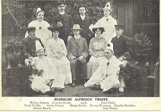 Rusholme Alfresco Troupe 1904
