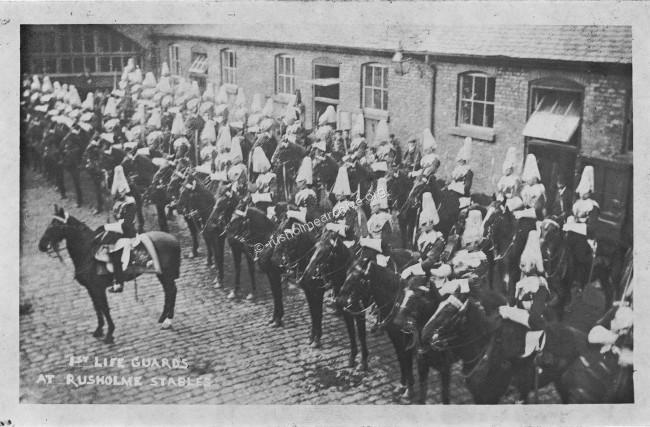 Rusholme stables 1909