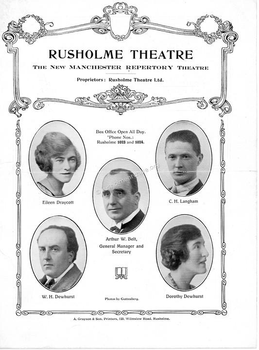1925 programme cover