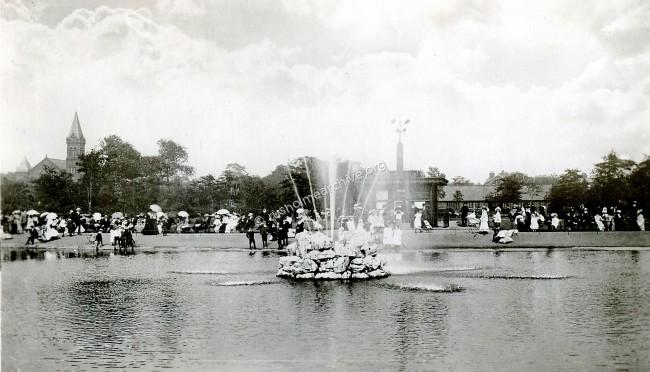 Undated view of the fountain.