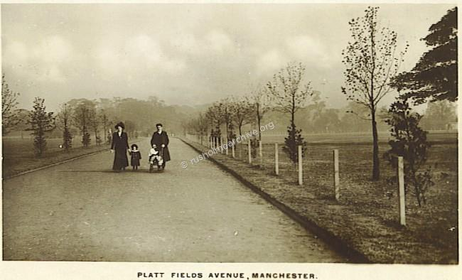 From Grangethorpe Drive to Platt Lane