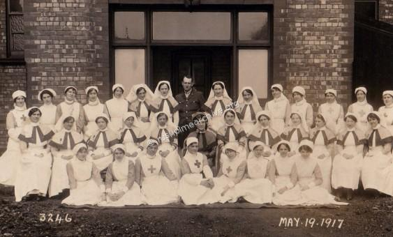 Nurse's at High Street Military Hospital,