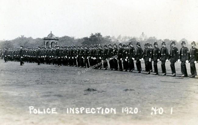 Police Inspection 1920