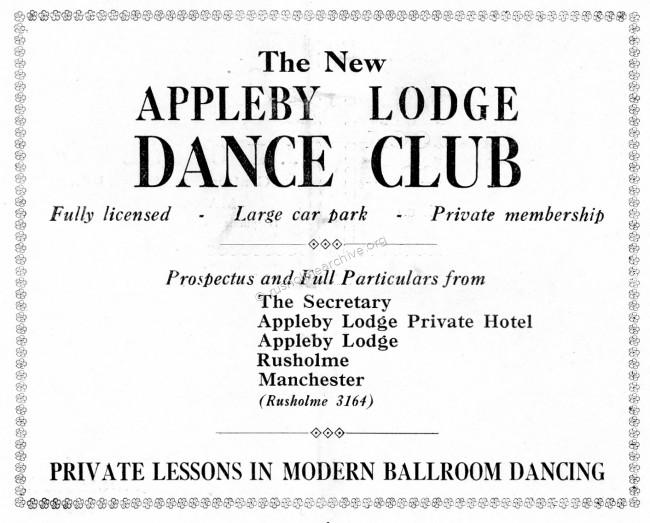 Appleby Lodge Dance Clup