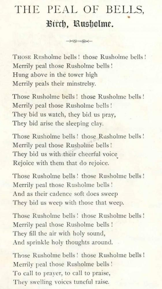 Merrily peal those Rusholme Bells' | Rusholme & Victoria Park Archive