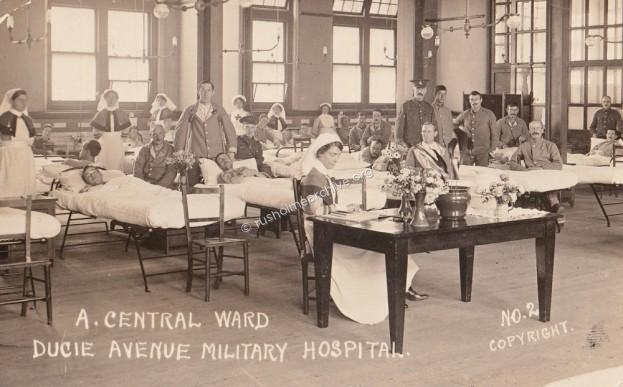 Ducie Avenue Hospital, patients & nurses