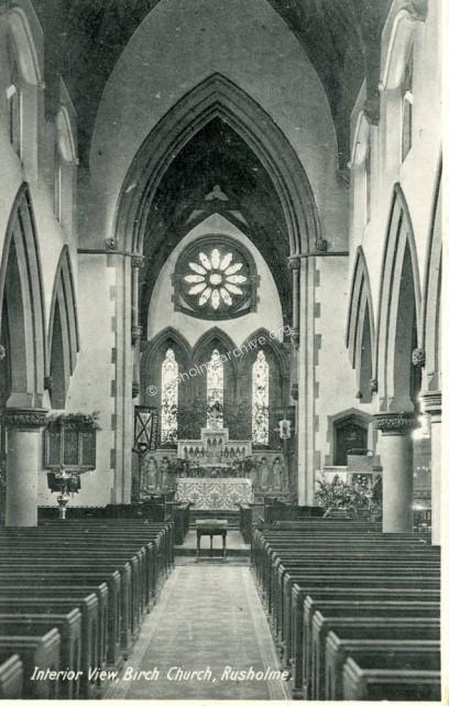 Undated interior view