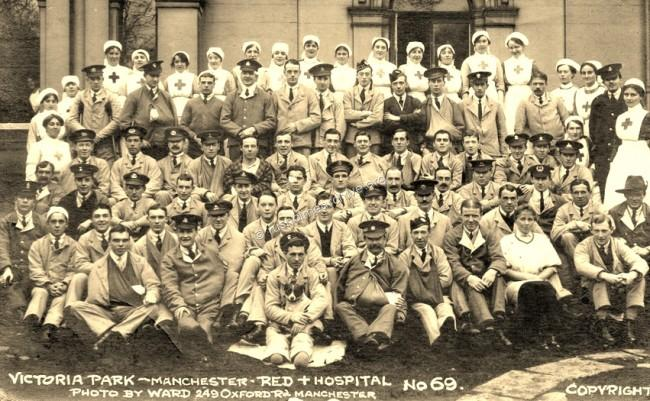 Neuberg patients & staff, undated