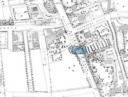 Tollgate location in blue square