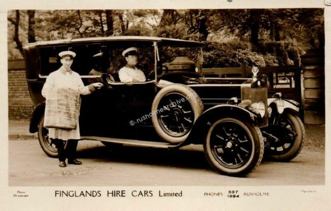 Undated, car in Upper Park Road, Victoria Park
